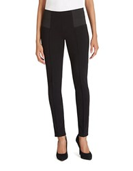 Lafayette 148 New York Punto Milano Skinny Pants Black