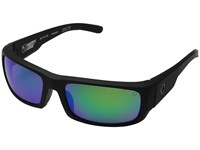 Spy Optic Caliber Soft Matte Black Happy Bronze Polar W Green Spectra Athletic Performance Sport Sunglasses Blue