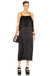 Apiece Apart Pedernal Dress In Black