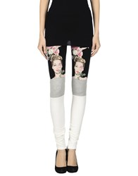 Pinko Tag Trousers Leggings Women Black