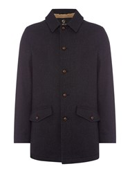 Howick Men's Barrington Wool Coat Charcoal