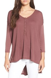 Billabong Women's 'Hard To Chase' Three Quarter Sleeve Thermal Top