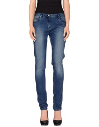 Paul And Shark Denim Denim Trousers Women Blue