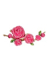 Betsey Johnson Pink Flower Ring Size 7.5