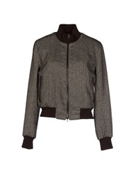 Jo No Fui Coats And Jackets Jackets Women Dark Brown