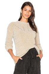 Cacharel Scarlett Chenille Sweater Beige