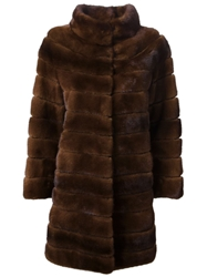 Liska 'Antonia' Coat Brown