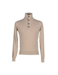 Alpha Massimo Rebecchi Knitwear Turtlenecks Men Dove Grey