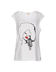 Met Topwear T Shirts Women White
