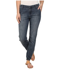 Kut From The Kloth Relaxed Trouser With Elastic Hem Enough Medium Base Wash Women's Jeans Blue
