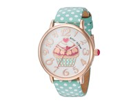 Betsey Johnson Bj00496 47 Cupcake Face Rose Gold Watches
