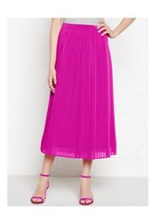 Kenzo Pleated Long Skirt Pink
