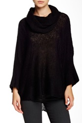 Wooden Ships Cowl Neck Ruana Black
