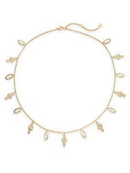 Adriana Orsini Dangling Charm Chain Necklace Gold