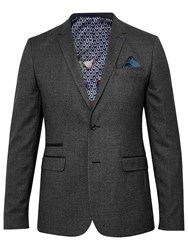Ted Baker T For Tall Swim Mouline Blazer Grey
