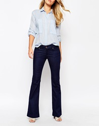 French Connection Belle Bottom Jeans Rinsewash