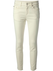 Alexander Mcqueen Slim Fit Jeans Yellow And Orange
