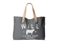 Will Leather Goods Carry All Grey Satchel Handbags Gray