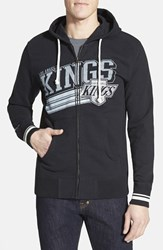 Men's Mitchell And Ness 'Los Angeles Kings No Grind' Tailored Fit Full Zip Hoodie