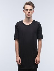 11 By Boris Bidjan Saberi Asymmetrical S S T Shirt