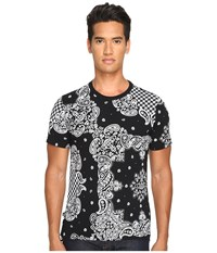 Vivienne Westwood Anglomania Bandana T Shirt White Black Men's T Shirt