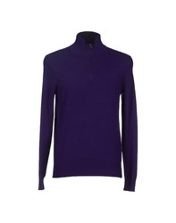 Polo Ralph Lauren Knitwear Turtlenecks Men Purple