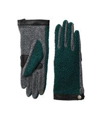 Echo Touch Basic Boucle Gloves Forest Green Extreme Cold Weather Gloves