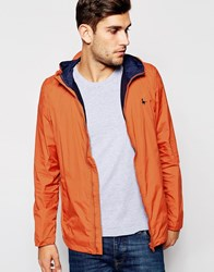 Jack Wills Nylon Jacket In Orange