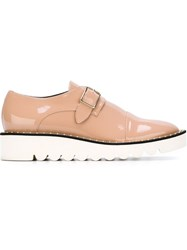 Stella Mccartney 'Odette' Buckled Shoes Pink And Purple