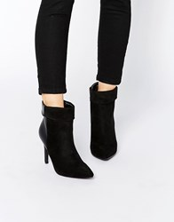 Pieces Psvalerie Heeled Ankle Boots Black