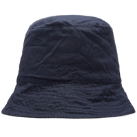 Engineered Garments Reversible Bucket Hat Navy Madras