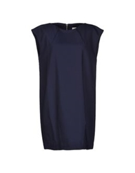 Ekle' Short Dresses Dark Blue