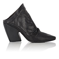 Marsell Women's Perforated Mules Black