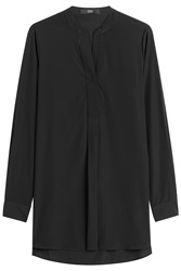 Steffen Schraut Upper East Side Silk Tunic Black
