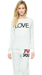 Freecity Love Super Beats Sweatshirt Gesso