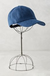 Anthropologie Marissa Baseball Cap Blue