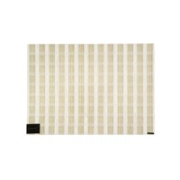 Chilewich Stitch Rectangle Placemat Gold