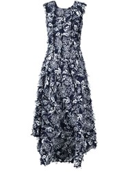 Creatures Of The Wind 'Desmo' Fil Coupe Dress Blue