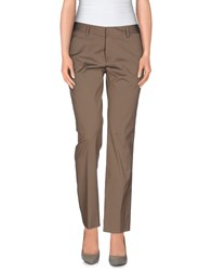 Tonello Trousers Casual Trousers Women Khaki
