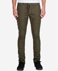 Volcom Men's Gritter Modern Tapered Pants Military