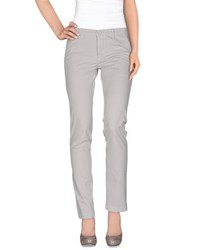Manuel Ritz Trousers Casual Trousers Women Light Grey