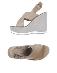 Fabio Rusconi Footwear Sandals Women Grey