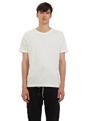 Les Basics Short Sleeved Crew Neck T Shirt White