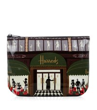 Harrods Harrods Windows Travel Pouch Unisex