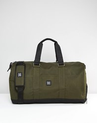 Herschel Supply Co Novel Holdall With Perforated Detail In Khaki 42L Green