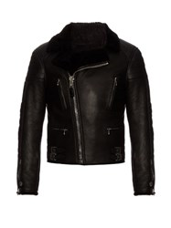 Givenchy Shearling Jacket Black