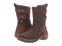 Merrell Sylva Mid Buckle Waterproof Potting Soil Women's Boots Brown