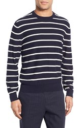 Men's Brooks Brothers Breton Stripe Cotton And Cashmere Sweater
