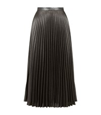 Claudie Pierlot Stereo Metallic Skirt Female Silver