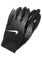 Nike Performance Tempo 360 Gloves Black Silver